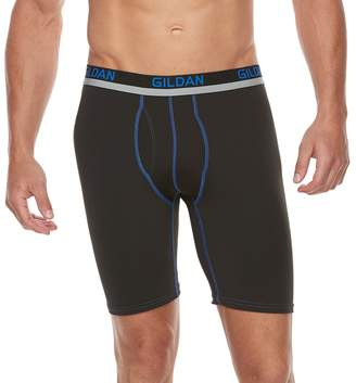 Gildan Men's 2-pack PolyStretch Long-Leg Boxer Briefs