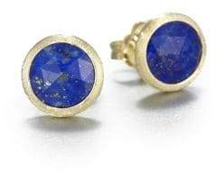 Marco Bicego Jaipur Resort Lapis& 18K Yellow Gold Stud Earrings