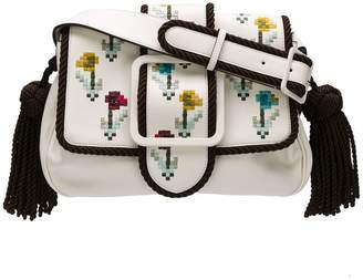 Marco De Vincenzo Giummi embroidered shoulder bag