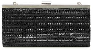 Jessica McClintock Laura Beaded Frame Clutch