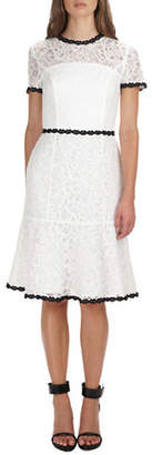 Adelyn Rae Hilda Lace Trumpet Dress