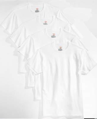 Hanes Men's 4-Pk. Platinum Stretch T-Shirts
