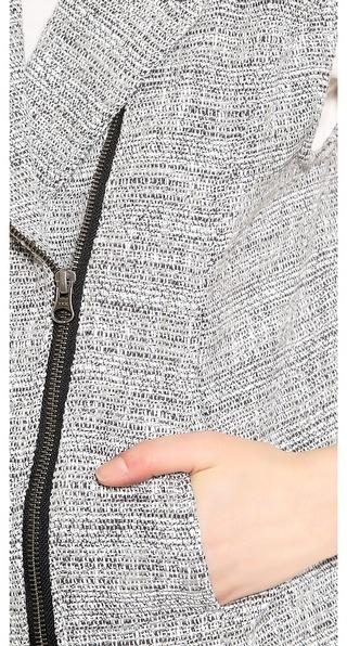 Autograph Addison Alexa Tweed Moto Vest