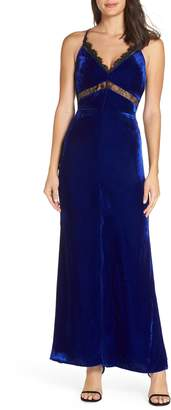 Harlyn Velvet Maxi Dress