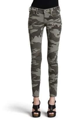 True Religion Casey Stretch Camo Low-Rise Super Skinny Pants