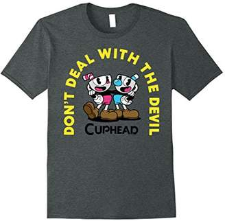 Cuphead Mugman Deal With The Devil Arch Duo Graphic T-Shirt