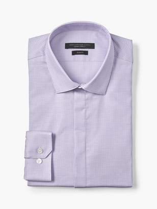 John Varvatos Slim Fit Basketweave Dress Shirt