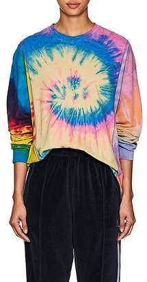 Needles Women's Tie-Dyed Cotton Long-Sleeve T-Shirt