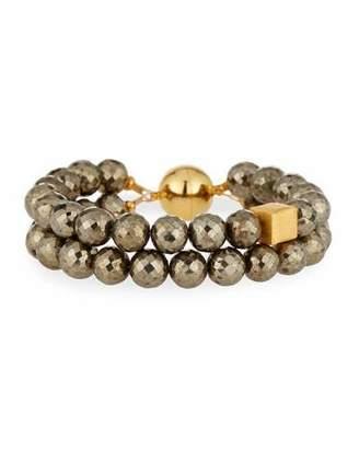 Dina Mackney Faceted Pyrite Bracelet