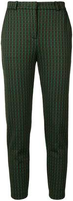 Pinko cropped jacquard trousers