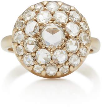 Nam Cho 18K White Gold Diamond Ring