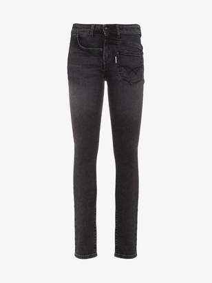 Filles a papa mid rise skinny jeans