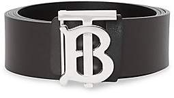 Burberry Men's Leather Belt