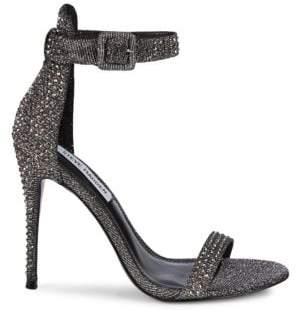 705881eb15e Steve Madden Mischa Rhinestone High Heel Sandals