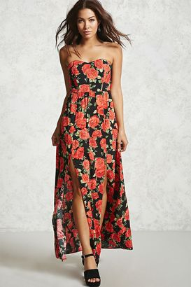 FOREVER 21+ Contemporary Rose Print Dress $24.90 thestylecure.com