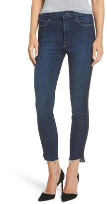 Mother The Stunner High Waist Ankle Skinny Jeans