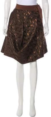 Marni Jacquard Knee-Length Skirt