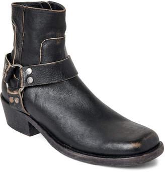 Balenciaga Black Leather Booties