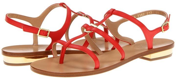 Salvatore Ferragamo Senia (Lava Calf) - Footwear