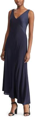 Chaps Women's Asymmetrical Maxi Dress