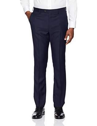 Buttoned Down Men's Slim Fit Super 110 Italian Wool Suit Dress Pant