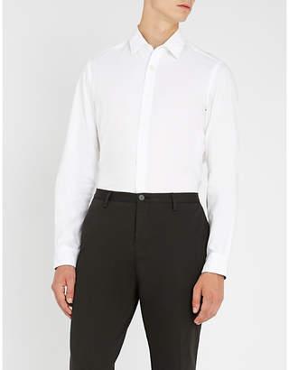 BOSS Regular-fit cotton shirt