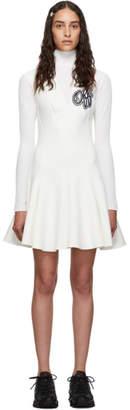 Off-White Off White ホワイトチアリーダー マルチウェーブ ドレス