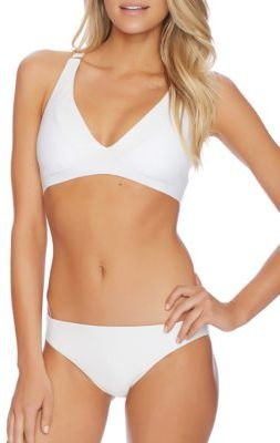 Luxe by Lisa Vogel Afterglow Sport Bikini Top $94 thestylecure.com