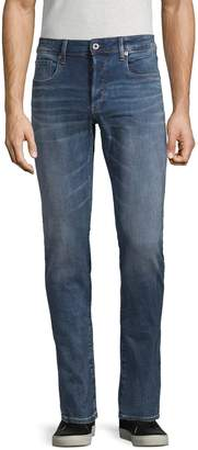 G Star Raw Classic Whiskered Jeans