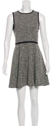 Tibi Flared Knit Mini Dress