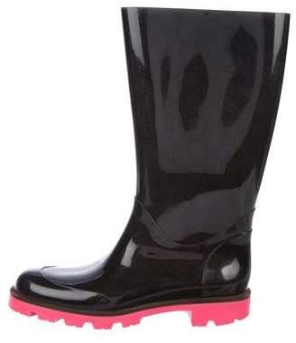 Gucci Guccissima Rubber Rain Boots