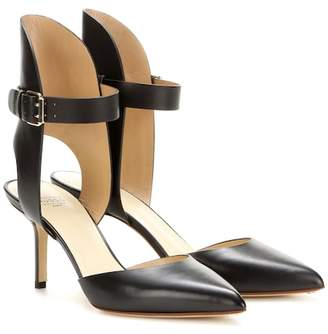 Francesco Russo Leather pumps