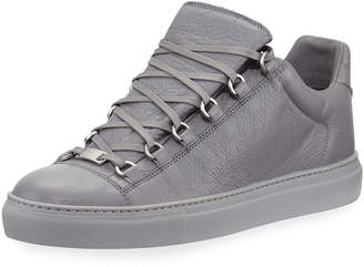 Balenciaga Men s Arena Leather Low-Top Sneakers 610f75bc6