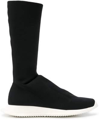 Rick Owens sock boot sneakers