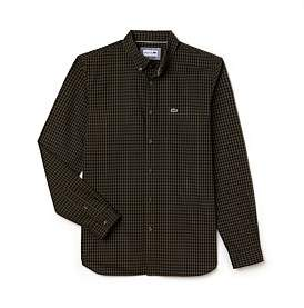 Lacoste Reg Fit Gingham Shirt