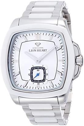 Lion Heart (ライオン ハート) - [ライオンハート]Lion Heart 腕時計 W102 ステンレススチールケース&セラミックベゼル ステンレス&セラミックブレス シルバー文字盤 クォーツ 日常生活防水 LHW102SSV メンズ 腕時計