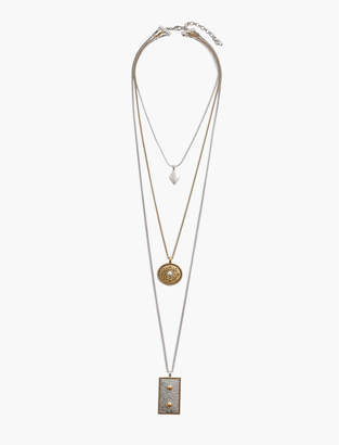 Lucky Brand SEQUENCE STRATA NECKLACE