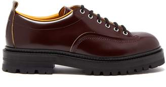 Marni Chunky-sole leather derby shoes