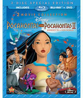 Disney Pocahontas and Pocahontas II - 3-Disc Combo Pack