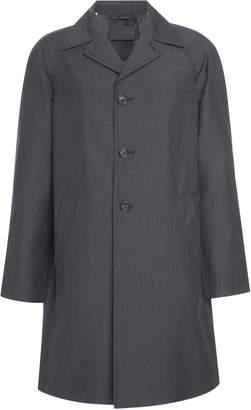Prada Tailored Shell Raincoat