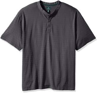 G.H. Bass & Co. Men's Tall Jack Mountain Jersey Short Sleeve Henley
