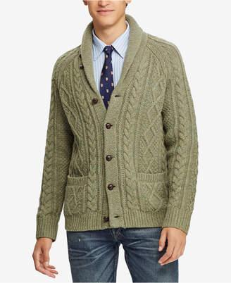 Polo Ralph Lauren Men's Cable-Knit Cardigan