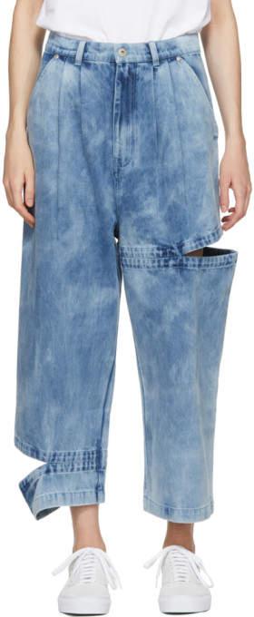 Indigo Perspective Bri Bri Wide-leg Jeans