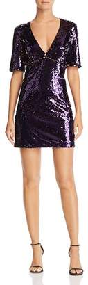 Bardot Two-Tone Sequin Dress