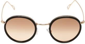 Kyme Matti Round Gradient Lens Sunglasses