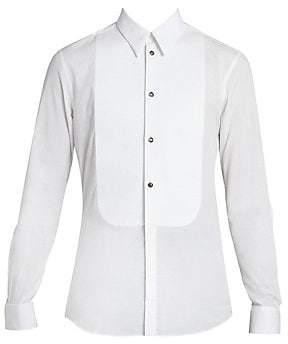 Givenchy Men's Cotton Tuxedo Shirt