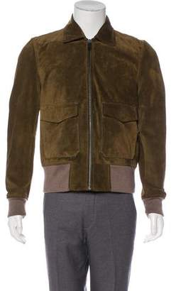 Marc Jacobs Suede Bomber Jacket w/ Tags
