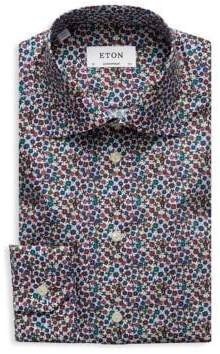 Eton Contemporary-Fit Floral Print Dress Shirt