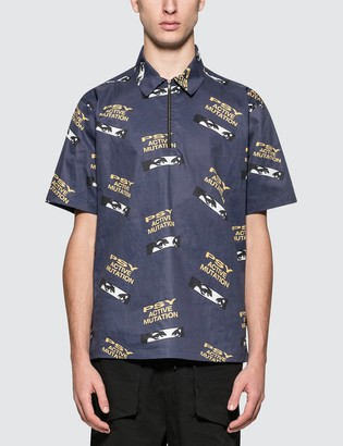 Perks And Mini Psy High Zip Shirt