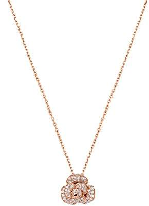 Fei Liu Fine Jewellery Women Gold 925 Sterling Silver Pendant Necklace of Length 20cm ROS-925G-303-PL00 MOMyZyqa7
